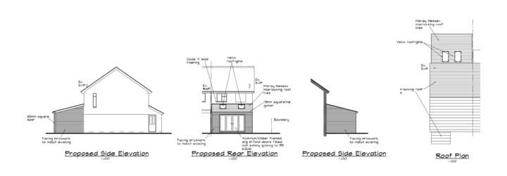 Drawings for building regulations