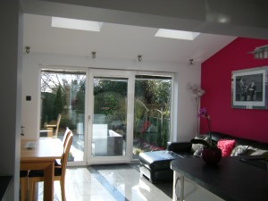 Inside House Extension, Derby