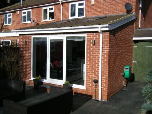 House Extension Side View